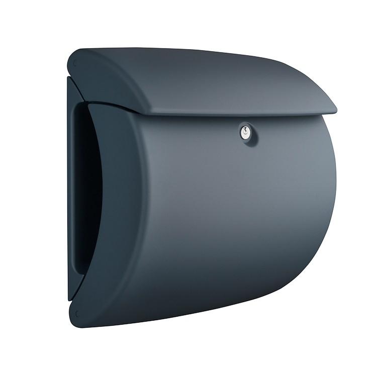 burg w chter briefkasten pearl 886 granit. Black Bedroom Furniture Sets. Home Design Ideas